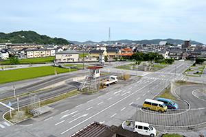 高知県自動車学校 広々としたコース
